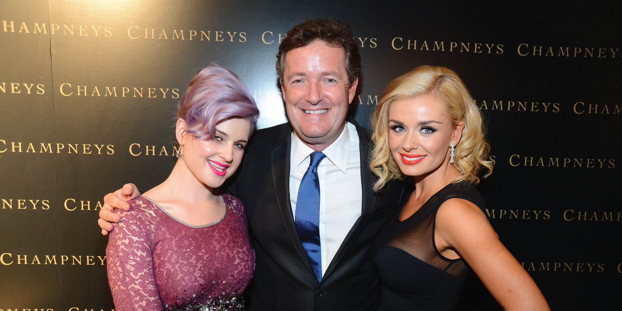 Kelly, Piers and Katherine at Champneys USA launch